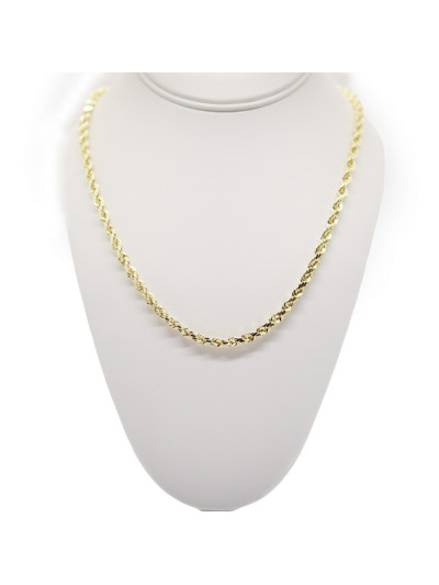 Gold Chain 14KT Rope